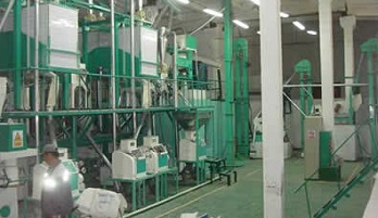 complete maize milling machine